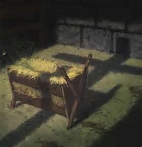 Cradle in a manger